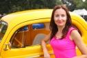 Шоу ретро-автомобилей в Хэмптонсе, штат Нью-Йорк