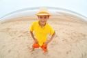 Бабье лето на пляже в Монтоке, штат Нью-Йорк (Indian summer on the beach in Montauk, NY)