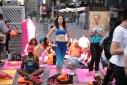 Моя йога на Таймс Сквер на фестивале йоги SolsticeTSq 2016