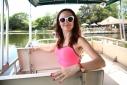 Катание на лодке вокруг Острова обезьян в Стране Львов, Флорида