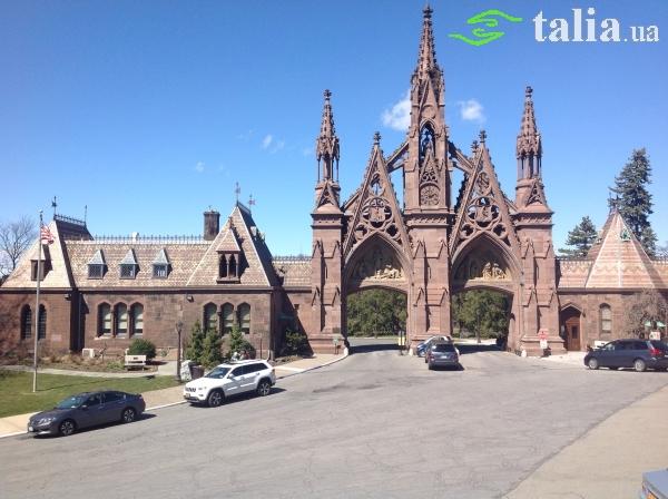 """Национальный исторический парк """"Кладбище Гринвуд"""", Бруклин, Нью-Йорк."""