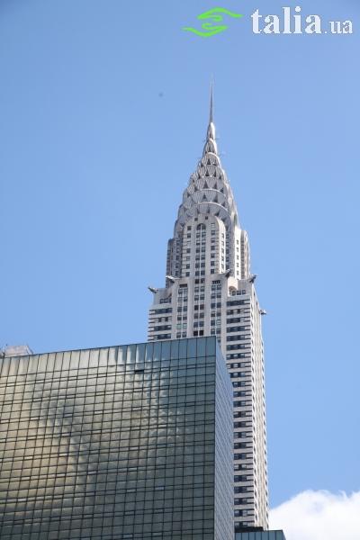 Небоскреб Крайслер Билдинг Нью-Йорк (Chrysler Building)
