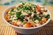 Рецепт. Классический салат оливье с колбасой (СССР)