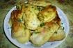 Рецепт. Сосиски в кляре с зеленью