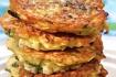 Рецепт. Оладьи из кабачков со сметаной и медом
