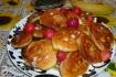 Рецепт. Банановые оладьи с творогом