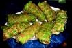 Рецепт. Кружевные блинчики с салатными листьями