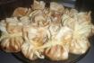 Рецепт. Блинчики с курицей и ананасом