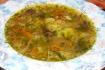 Рецепт. Постный грибной суп с чесноком