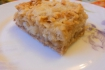 Рецепт. Постный пирог с яблоками (сухой)