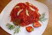 Рецепт. Постный салат витаминный из овощей