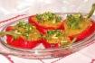 Рецепт. Пюре из чечевицы запечённое в болгарских перцах