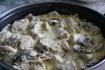 Рецепт. Подлива к пюре из куриных грудок и шампиньонов