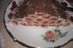Рецепт. Блины на молоке с вишнями со сметанным кремом