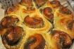 Рецепт. Пирог с маком дрожжевой ''Ромашка''