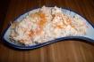 Рецепт. Салат из моркови с творогом