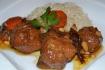 Рецепт. Мясо с черносливом и кедровыми орехами