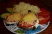 Рецепт. Мясо по-французки с помидорами