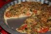 Рецепт. Пицца с грибами и помидорами