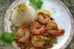 Рецепт. Рис с морепродуктами и фисташками
