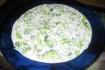 Рецепт. Окрошка на кефире (холодный суп)