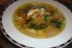 Рецепт. Куриный суп с яблоками и рисом