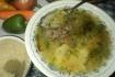Рецепт. Рисовый суп со свиными ребрышками