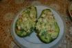 Рецепт. Салат с авокадо и крабовыми палочками