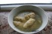Рецепт. Суп с клецками из манной крупы