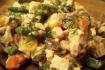 Рецепт. Салат с курицей и овощами