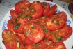 Рецепт. Салат из помидоров
