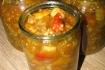 Рецепт. Салат из баклажанов на зиму