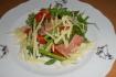 Рецепт. Салат с ветчиной