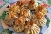 Рецепт. Налистники с мясом курицы и грибами