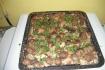 Рецепт. Свинина с грибами и картошкой в духовке
