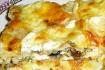 Рецепт. Лазанья из лаваша с сыром