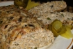 Рецепт. Мясной хлеб из курицы и грибов