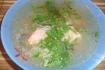Рецепт. Детский суп сёмгой