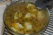 Рецепт. Суп на курином бульоне