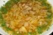 Рецепт. Детский суп с грибами
