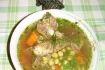 Рецепт. Суп с зеленым горошком