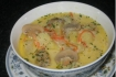Рецепт. Суп с сырками