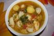 Рецепт. Суп с пельменями