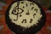 """Рецепт. Торт """"Моцарт"""" с черно-белым муссом"""