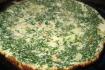 Рецепт. Фриттата с зеленой фасолью и луком