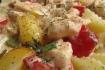 Рецепт. Паста с морепродуктами и овощами
