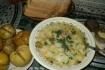 Рецепт. Суп с макаронами и домашней курицей