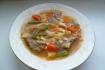 Рецепт. Суп из кролика со спаржей