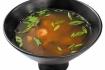 Рецепт. Японский суп с креветками