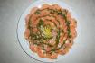 Рецепт. Карпаччо из лосося в маринаде